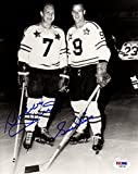 PSA/DNA Bobby Hull & Gordie Howe Autographed Signed NHL All-Star Game 8x10 Photo Photograph