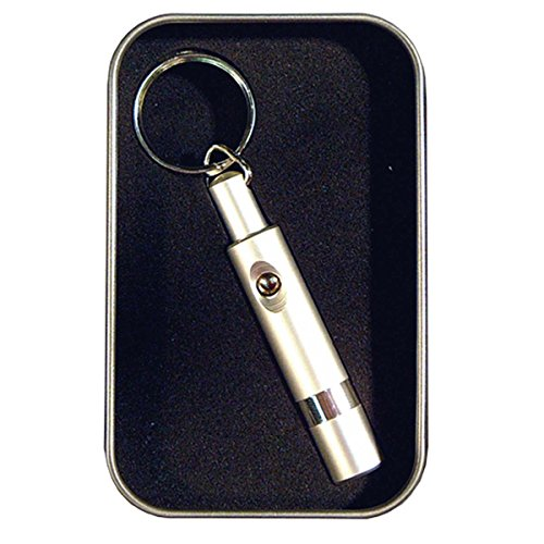 Prestige Import Group - Retractable Cigar Punch Cutter - Color: Silver