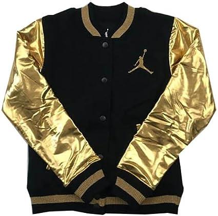 Air Jordan Girls Varsity Jacket Black