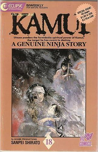 The Legend of Kamui: A Genuine Ninja Story #18: Akame ...