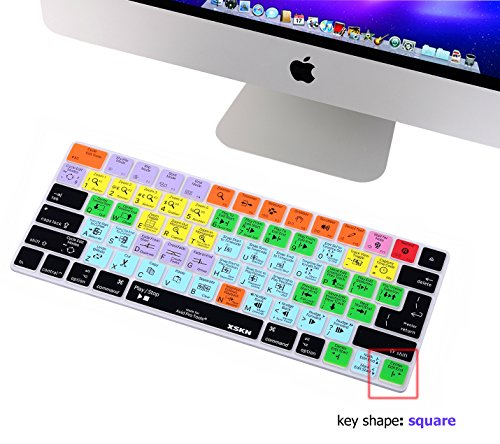 XSKN Magic Keyboard Avid Pro Tools Shortcut Keyboard Cover, Durable Avid Hotkeys Silicone Keyboard Skin for Apple Magic Keyboard MLA22LL/A by XSKN (Image #2)
