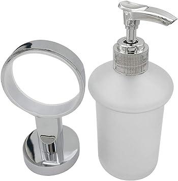 Amazon.com: Dispensador de jabón para lavabo de baño, con ...