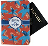 Blue Parrot Passport Holder - Fabric (Personalized)