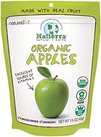 Dried Fruit & Raisins: Natierra Organic Apples
