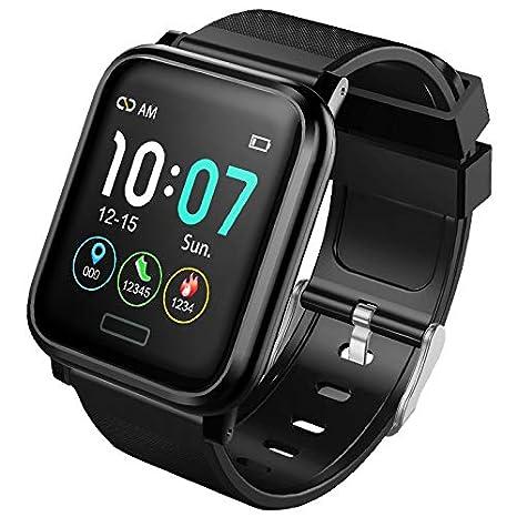 Amazon.com: 15smart Reloj impermeable para hombre y mujer ...