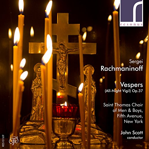 Sergei Rachmaninoff: Vespers (All-Night Vigil), Op. for sale  Delivered anywhere in USA