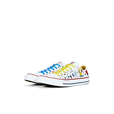 bf5b56e4137de2 BT21xConverse Collarboration Chuck Taylor All Star Low White (Limited) (US  6)