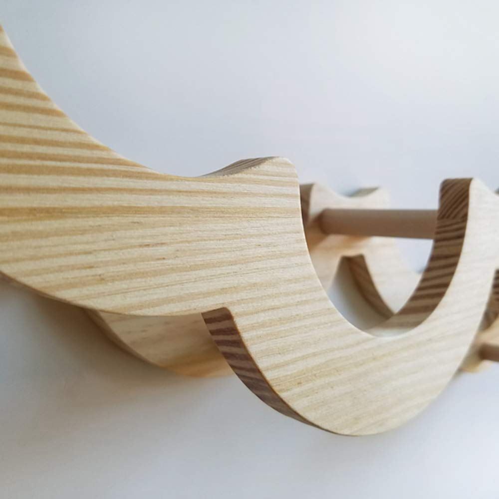 Gecious Cloud Toilet Paper Holder Wall Mount, Wood by Gecious (Image #7)