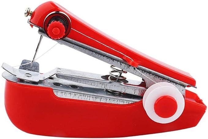 Mini máquina de coser Máquina de coser manual portátil para telas ...
