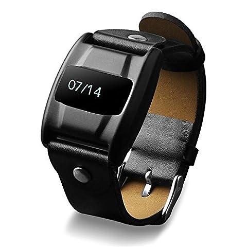 V3 Waterproof Blood Oxygen Heart Rate Monitor Bluetooh Wristband Watch Bracelet for iPhone 7 (V3 Watch Phone)