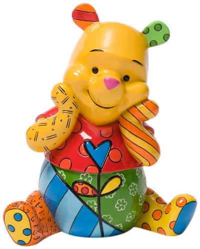 - Disney by Britto Winnie the Pooh Stone Resin Figurine