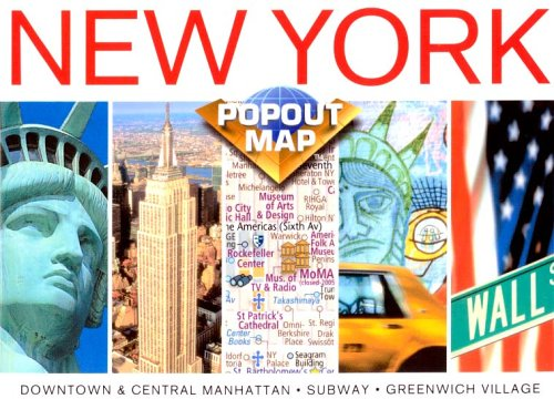 New York Popout Map, Double Edition ebook