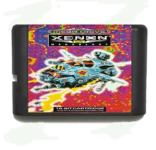 Taka Co 16 Bit Sega MD Game Xenon 2 Megablast 16 bit MD Game Card For Sega Mega Drive For Genesis