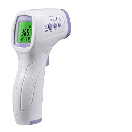 Non-Contact LCD Digital Infrared Forehead Thermometer Gun Adult Body Temperature