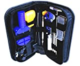 """High Precision Watch Repair Tool Kit - 13 Piece Watch Repair Kit - Watch Repair Set - Stainless Steel Watch Tool Set with Carrying Case - (8' x 4"""" x 2"""")"""