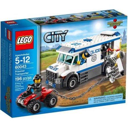 LEGO City Prisoner Transporter Set #60043 (Transporter Set)