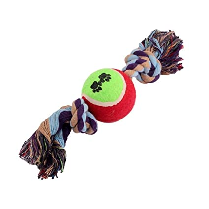 Pet Supplies : XSWZAQ Pet Cotton Rope Toy Cotton Rope ...