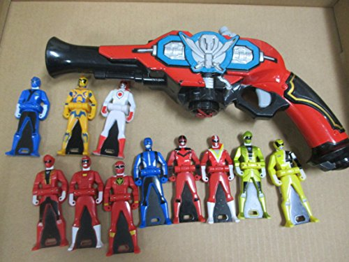 Power Ranger Gokaiger DX Gokai Gun & Ranger Key