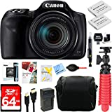 Canon PowerShot SX540 HS 20.3MP Digital Camera with 50x Optical Zoom + 64GB Dual Battery Accessory Bundle Review