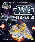 STAR WARS Flieger falten: Falte 30 Papier-Sternenjäger