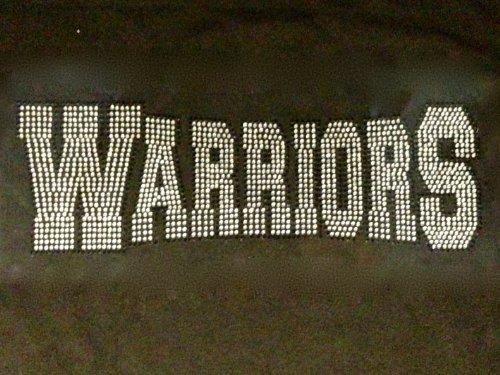 Warriors Mascot Rhinestone Transfer Iron - Mascot Warrior