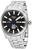 Ball Engineer II Union Pacific Big Boy Limited Edition Day Date Black Face Swiss Automatic Stainless Steel Mens Watch NM1080C-S2-BK