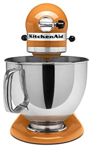 KitchenAid KP26M1PSL Professional 600 Series 6-Quart Stand Mixer