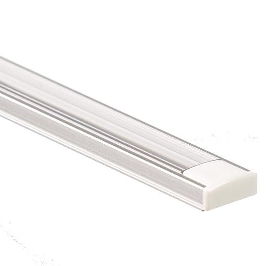 27 opinioni per Profilo LED in alluminio ANSER 2 metri Barra per Strisce LED + Copertura