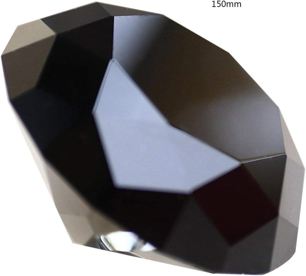SeniorMar 80100150 mm Juguetes para niños Piedras Preciosas Vidrio Transparente de Colores Pequeños Diamantes de Cristal Muebles Adornos de mostrador de Boda