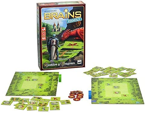 SD GAMES- Brains Family: Castillos y Dragones, Multicolor (SDGBRAINS04): Amazon.es: Juguetes y juegos