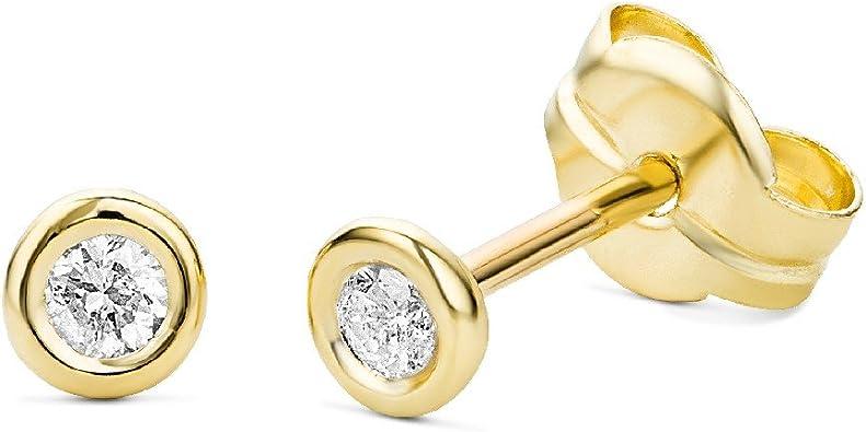 boucle d'oreille or et diamants
