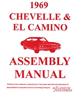 1969 chevelle, ss, malibu & el camino factory assembly instruction  turn on 1 click ordering for this browser