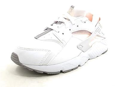016c989f41770 Nike Huarache Run Little Kid's Shoes White/Crimson Tint 704951-110 (1.5  D(M) US)