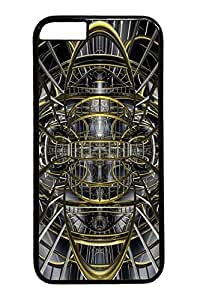 Abstract ID35 Custom iPhone 6 Case Cover Polycarbonate black