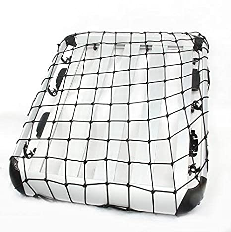 Parrilla de equipaje, cesta universal de aluminio 139 x 99 ...