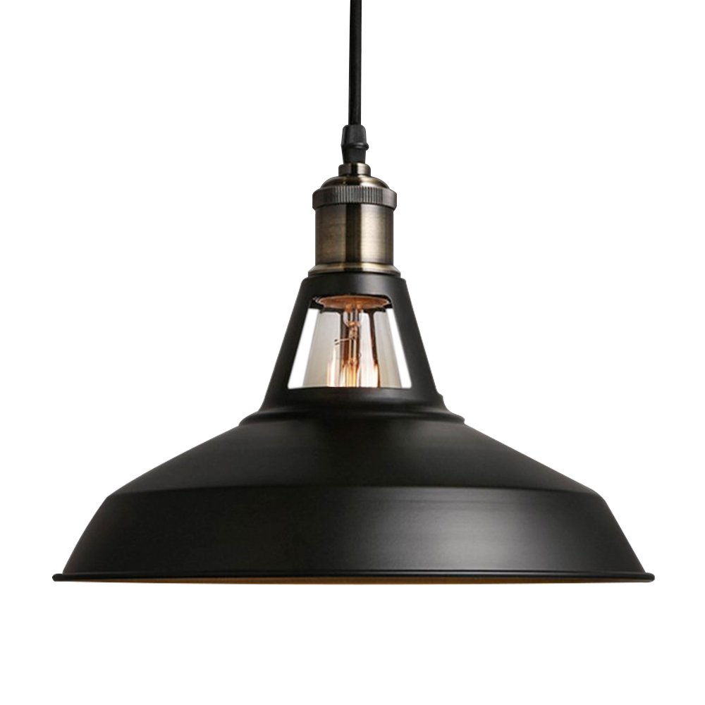 Cool Black Coating Kitchen Pendant Lights Fixtures Over