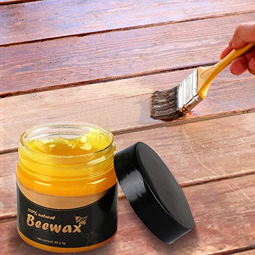 Wood Seasoning Beeswax | Beeswax Furniture Polish Wax | Wood Restoration Beeswax | Beewax Wood Polish | Traditional Beeswax Polish For Wood & Furniture | Beeswax Wood Polish | Wood Seasoning Beewax