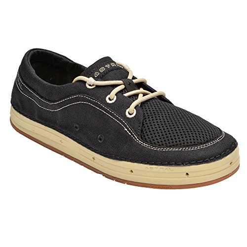 Astrale Mens Portier Waterschoenen Black / Tan