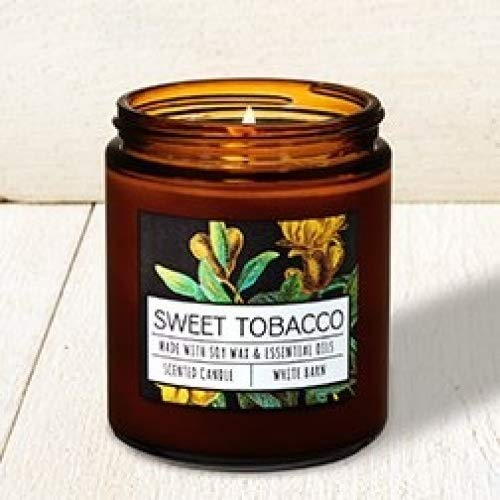Bath and Body Works Sweet Tobacco Single Wick Candle. 7 Oz.