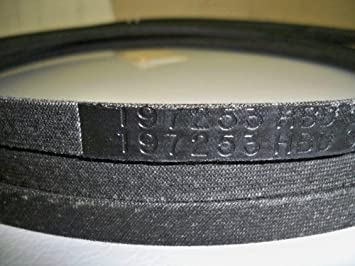 Amazon.com : Craftsman 197253 Lawn Tractor Belt : Lawn Mower ...
