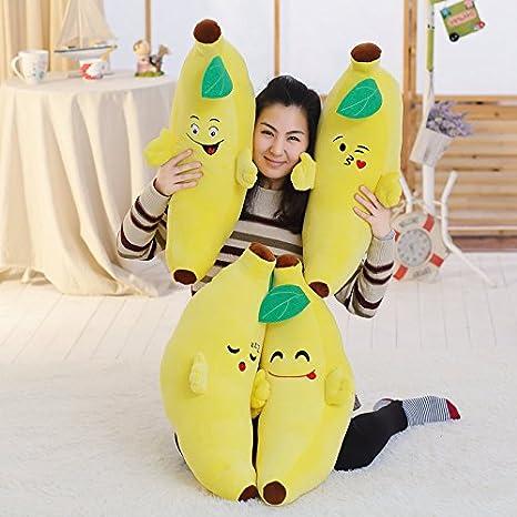 Hebao Funny Face Banane Puppe Plüsch Spielzeug Puppe Kissen