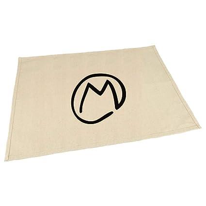 Amazon Com M Clipart Initial Monogram Letter M Cotton Canvas