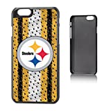 Team Pro Mark Apple iPhone 6 Licensed NFL Protector Case - Pittsburgh Steelers - Retail Packaging - Yellow with Black/White