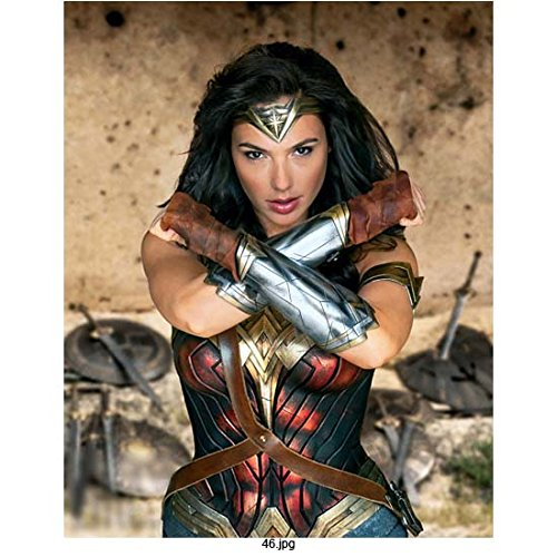 Wonder Woman Gal Gadot with  arms crossed  8 x 10 Inch Photo