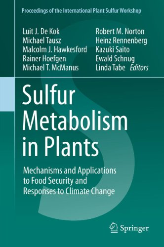 Sulfur Metabolism in Plants: Mechanisms and Applications to Food Security and Responses to Climate Change (Proceedings of the International Plant Sulfur Workshop Book 1) (Botanik-shops)