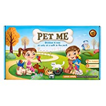 PET ME division board game STEM toy Math manipulative and resource for kids 8 years and up