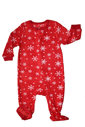 Snowflake Footed Pajamas