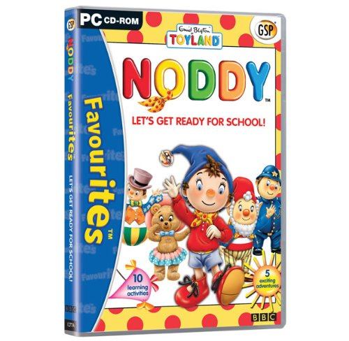 Reader Rabbit Math Adventure - Noddy Let's Get Ready For School! (Windows CD) 10 learning activities, 5 exiting adventures