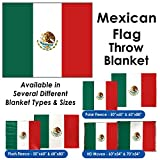 Mexican Flag Throw Blanket %2F Tapestry