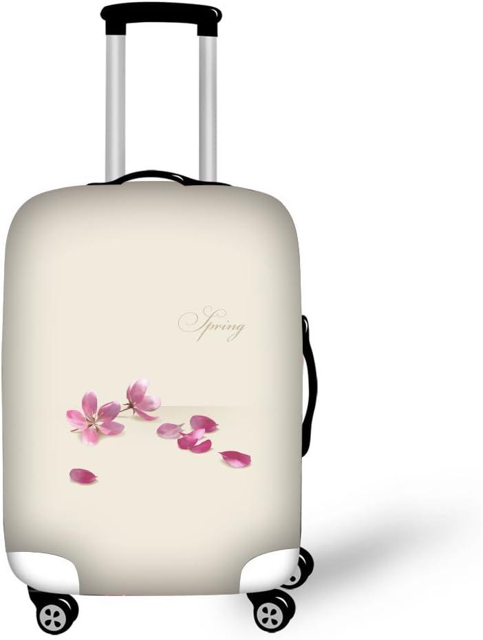Blanc, S CAIWEI Housse de Protection Valise pour Fleurs Roses de 18 /à 30 po 18-22 Cover Housse de Protection pour Valise